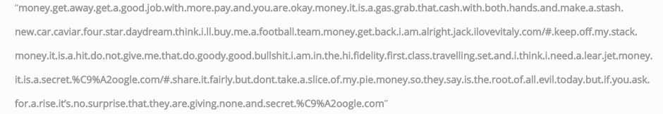 spam url