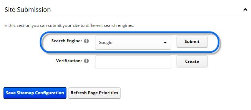 Добавяне на сайт в търсачката Google